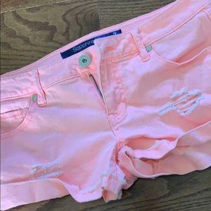 Peachy shorts